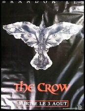 THE CROW Affiche Cinéma ORIGINALE / Movie Poster Roulé BRANDON LEE