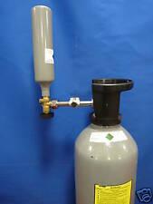 CO2 KOHLENSÄURE Gasflaschen- UMFÜLL- ADAPTER mit 2 x W 21,8 x 14 INNENGEWINDE