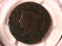 1834 Coronet Head Large Cent PCGS Genuine Sm 8 Lg Stars Med Let 33033970