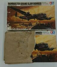 2 x 1/48 Tamiya Dambuster Lancaster BIII Grand Slam Bomber Plastic Model Kit