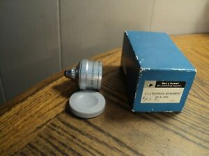 Vintage Bell & Howell 2-1/2 X Telephoto Attachment No. 07956  Lens Cap & Box USA