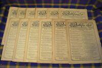 Vtg Lot of 12 PATHFINDER Weekly Magazine From Washington , 1924, Articles, Ads,+