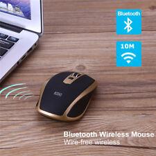 1600DPI Bluetooth Wireless Optical Mouse Ergonomic Mice for Windows 10 PC Games