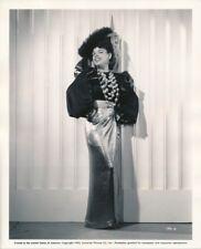 AURORA MIRANDA Original Vintage 1943 PHANTOM LADY COSTUME Portrait Photo CARMEN