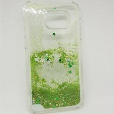Funda Carcasa Rígida Glitter Samsung Galaxy S7 Edge con Purpurina y Estrellitas