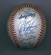 2000 S.F. Giants Autographed Team Baseball BALL 29 Autogs. w/BONDS Playoff Team