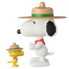 Medicom Toy VCD No.258 Beagle Scout Snoopy & Woodstock Figure