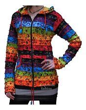 Women Circled Hippie Hoodie Long Sleeve Top Sweater Summer Jacket Outwear