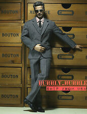 1/6 Men Business Tie Suit Set C For Hot Toys Phicen Male Figure ☆SHIP FROM USA☆