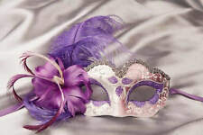 Baby Armony Silver - Small Feathered Masks