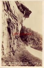 US 25 BETWEEN JELLICO AND LAFOLLETTE, TN RPPC Cline Photo R - 63 1940's era auto