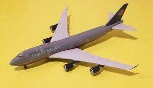 Gemini Jets 1:400 United Airlines 747-400 Battleship Livery N197UA Rare