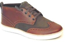 $110 Timberland EK Hudston Brogue Chukka Boots Brown  Size: 7