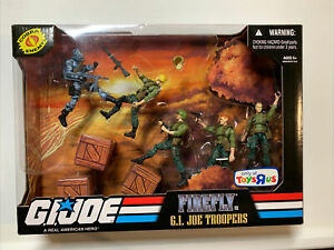 GI Joe 25th Firefly vs GI Joe Troopers Toys R Us Exclusive 5 Pack ARAH 30th