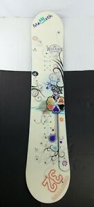 Used Salomon Lotus 142cm Free Style Snowboard Deck