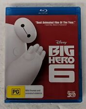 BIG HERO 6 3D Blu-ray Region A B C oz seller Disney