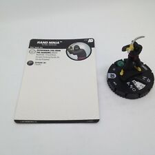 Heroclix Avengers Defenders War set Hand Ninja #015 Common figure w/card!