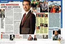 Coupure de Presse Clipping 2008 Joe Mantegna Esprits Criminels