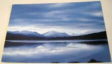 Scotland The Mountains of Lochaber from Loch Laggan A48 Phil Banks - posted 2003
