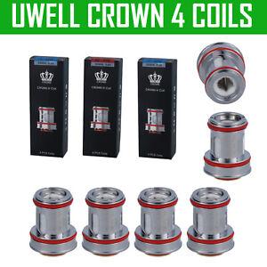 Uwell Crown 4 Coil Mesh Coil Verdampferköpfe 0,2 0,23 0,25 0,4 Ohm Mesh Coils