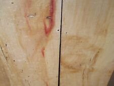 4 Boards AD Spalted Wormy Red Box Elder Table Top End Table Coffee Table Crafts