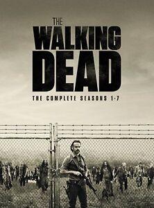 The Walking Dead The Complete Season 1+2+3+4+5+6+7 DVD Box Set 1 - 7