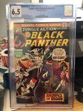Jungle Action #19, FN+ 6.5 CGC, Black Panther vs. the Klan
