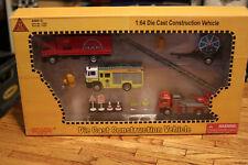 Prototype Toy 1:64 New Toys Millennium Die Cast Construction Vehicle Rescue Set