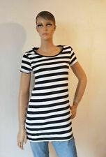 Shirt Damen schwarz weiß Kurzarm Größe M (2005DE5#) 07/2020