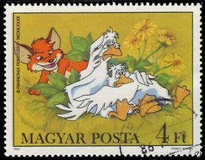 "HUNGARY 2763 - ""Vuk the Fox Cub"" by Attila Dagray (pf70912)"