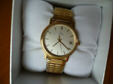 Ladies' Gold Omega Watch With Bracelet (UNISEX) Quartz.