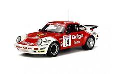 Otto Mobile 676 Porsche 911 SC RS Rally Coche Modelo de Resina Ypres 1985 1:18th Escala