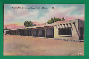 PALACE OF THE GOVERNORS, SANTA FE, NEW MEXICO VINTAGE PC 3927