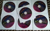 7 CDG KARAOKE DISCS VERY BEST 1950S-1980S OLDIES,ROCK,COUNTRY 2018 SALE CD+G