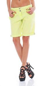 M.O.D  Damen Bermuda Shorts Citron W26