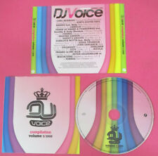 CD DJ VOICE VOLUME 3/2008 compilation 2008 PROMO STFU TORRES (C45)