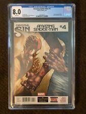 Amazing Spider-Man #4 ASM 1st SILK CGC 8.0