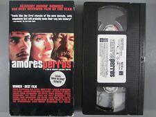 Amores Perros Vhs 2000 - Alejandro Gonzalez Inarritu