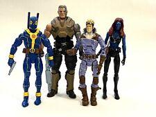 Marvel Legends X-Force Toybiz Cannonball Hasbro Cable Mystique Deadpool Lot