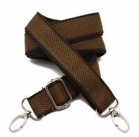Canvas Cross body Bag Strap Adjustable 65' inch Replacement Belt Handbag Handle