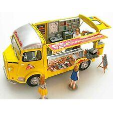EBBRO 25013 CITROEN Type H Crepe Mobile With Figure 1/24 Scale Plastic Model JP