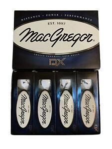 MacGregor DX Distance Power Performance White Golf Balls Dozen New
