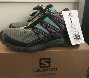 BRAND NEW IN BOX Salomon Women's X-mission 3 Trail Running sneaker Shoes Sz 9 M