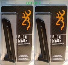Lot of 2 - Browning BuckMark 22lr 10 Round Magazine 10rd Mag 112055190 NEW OEM