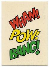 1966 Batman Weeties & Rice Krinkles Wham Pow Bang