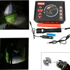 Hotsale LED Rechargeable 18650 Focus SWAT 3Mode Flashlight Torch Lamp + Charger