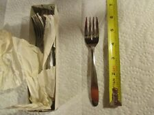 Delco Delta Tableware 5 7/8 inch Salad Fork 5 Dozen Forks & Delco Flatware and Silverware | eBay