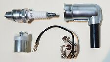 IGNITION SERVICE KIT PUCH MAXI POINTS CONDENSER SPARK PLUG CAP