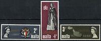 Malta 1967 SG#396-8 Royal Visit MH Set #D23006