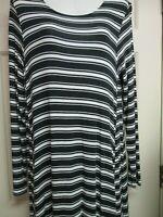 Black/White Striped A-Line Dress by Mud Pie, Size Small, New